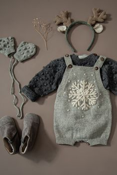 Knitted Baby Clothes, Knitted Romper, Organic Baby Clothes, Knitting For Kids, Baby Knitting Patterns, Newborn Outfits, Girl Outfits, Romper Outfit, Cute Outfits For Kids