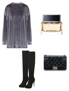 """""""☺️"""" by demi-tessa on Polyvore featuring mode, My Mum Made It, Chanel en Givenchy"""