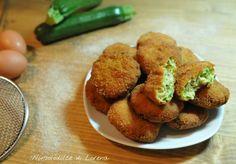 Polpette di zucchine e prosciutto