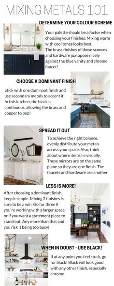 A complete guide on how to mix metals in your home - be it in a kitchen, bathroo. - Umbau * Deko Tipps - Home Accessories Living Room Accessories, Kitchen Accessories, Diy Home, Home Decor, Kitchen Hardware, Brass Hardware, Living Room Remodel, Living Rooms, Metal Homes