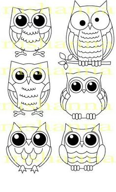 Fun DIY how to draw an owl