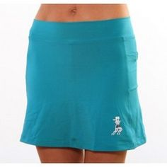 Athletic Skirt Turquoise