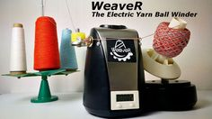 Super nápad  – Electric yarn winder that improve yarn quality project video thumbnail