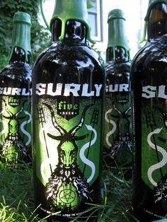 Sour beer. http://www.ratebeer.com/beer/surly-five/146554/