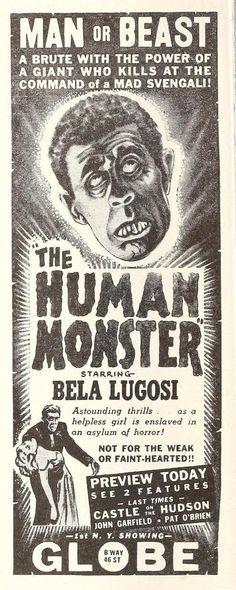 The Human Monster (1939)