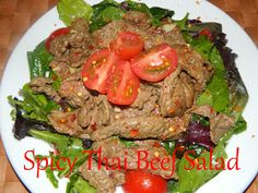 My Favorite Things: Spicy Thai Beef Salad