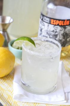 I love sipping on a good margarita when it's a beautiful, sunny day, but sometimes margaritas can be a pain to make because of all the ingredients. There's also an art to making a good one, as they tend to be either too sweet or too sour. So I simplified the margarita and just added...readmore