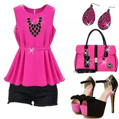 Great outfit with matching bag....