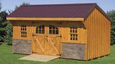 regular series poolside workshop shed 10 x 16 vinyl siding options