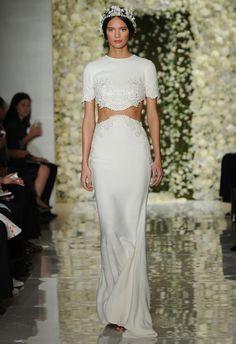 Reem Acra Wedding Dresses Fall 2015