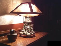 R.D. Wice - Lamp 5. I'm going to make a base similar to this!