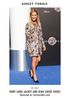 Miss Ashley Tisdale SPARKLING on the red carpet in a&o!