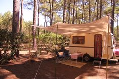 Onze retro Caravan - Lander Graziella 340
