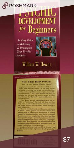 Psychic Development for Beginners Book Psychic Development for Beginners in practically brand new condition with some slight wear.  Bundle up on my books from my closet to save!!  #witch #magic #divination #moon #spells #wicked #witchcraft Witchcraft  Other