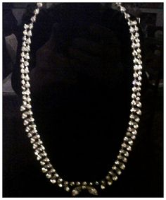 1900's Style Costume Diamond Necklace used in the movie Titanic.