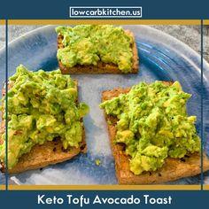 kitchen avocado toast keto tofu carb low Keto Tofu Avocado Toast Low Carb KitchenYou can find Keto tofu recipes and more on our website Tofu Recipes, Avocado Recipes, Delicious Vegan Recipes, Whole Food Recipes, Keto Recipes, Recipies, Avocado Toast, Keto Avocado, Keto Recipe Book