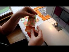How to Piece a Basic Log Cabin Quilt Block http://onlinequiltingclassesmembership.ning.com/