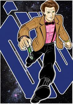 dr Prestige Commission by Thuddleston on DeviantArt Eleventh Doctor, Doctor Who, Don't Blink, Matt Smith, Dr Who, The Prestige, Tardis, Sherlock, Joker