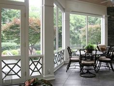 Bottom fretwork.  Rutledge Porch_01 Porch designed and constructed by The Porch Company - Nashville, TN