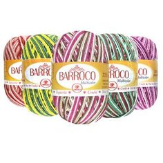 Linha Círculo Barroco Multicolor - 226 m