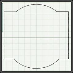 Make your own scrapbook paper, Cricut cut file #7