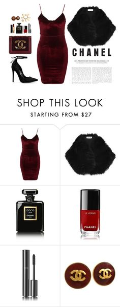 """Chanel"" by nabilayunita on Polyvore featuring Glamorous, River Island and Chanel"