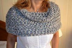 Bufanda-Chal cerrado en tubo de crochet | Patrones para Crochet | Bloglovin'