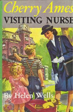 Cherry Ames, Visiting Nurse (Cherry Ames, book by Helen Wells - book cover, description, publication history. I Love Books, Books To Read, My Books, Nursing Books, Nursing Quotes, Funny Nursing, Nursing Memes, Visiting Nurse, Vintage Nurse