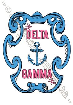 The Greek Ink Press - Vintage Armor Collection - Anchor Sorority T-Shirt Design - NO MINIMUM ORDER + 100% Customizable!