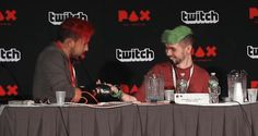 """tinyblogtim: """" """"My mother was a masseuse, she trained me…"""" PAX East 2016 """""""