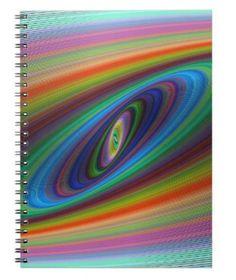 Galaxy Spiral Notebook $14.35