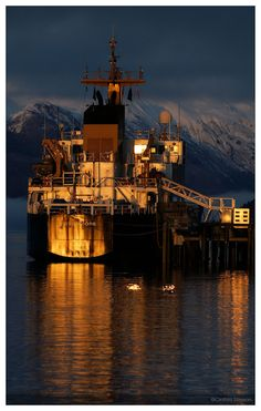 """Sweet Night's Light""  Cordova, Alaska  © Cinthia Gibbens-Stimson, All Rights Reserved."
