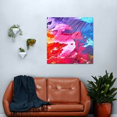 Hipster Wet Paint Artwork Metal Print #artwork #hipster #wet #paint #brushstrokes Copper Wall Art, Abstract Metal Wall Art, Abstract Canvas Art, Garden Wall Art, Home Wall Art, Wall Art Decor, Psychedelic Decor, Butterfly Wall Art, Photography For Sale