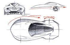 Disco Volante Concept 2012 Design Sketches