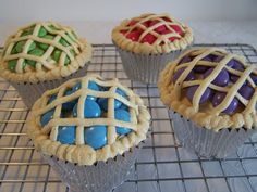 Cupcakes as little pies
