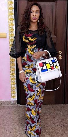 African fashion lace, African fashion    n style, Ghanaian fashion, ntoma   es femmes, krobo      , xhos   st african kaftan,   wear, fash      .
