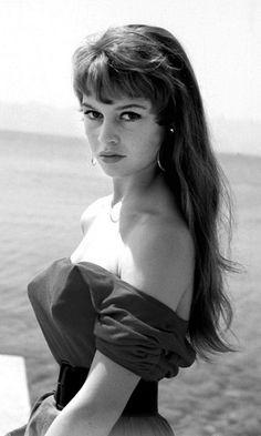 Brigitte Bardot, c. 1954***Research for possible future project.