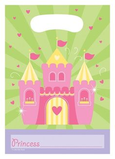 Fairy Tale Princess Loot Bags (8)   Holding a magical celebration?  Our co-ordinating themed loot bags feature a handle for easy carrying and plenty of space for party loot and lollies!