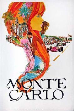 Monte Carlo, Date: c1970 poster