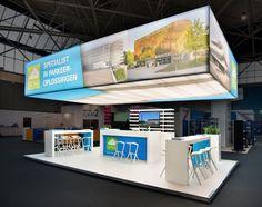 Standbouw | KOP | Continental Car Parks | Provada | Eilandstand | Exhibition Stand Design