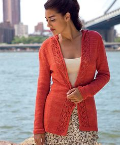 Ravelry: Brooklyn Bridge Cardigan pattern by Melissa Wehrle