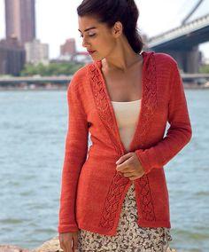 Ravelry: Brooklyn Bridge Cardigan pattern by Melissa Wehrle