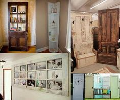 Old wood doors can be found at flea markets, yard sales, antique stores and even on the curb for trash pick-up. These charming old doors can be given a new life with some thoughtful repurposing and a little bit of elbow grease. Take a look at these Creative Door Repurpose Ideas.