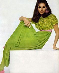 Ann Turkel  Bailey @voguemagazine 1967  by pjcalder