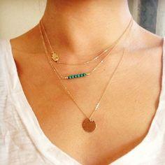 Multi Layer Necklace Multi Layer Necklace Jewelry Necklaces
