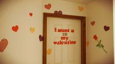 my valentines door this year- tarshamarielynn