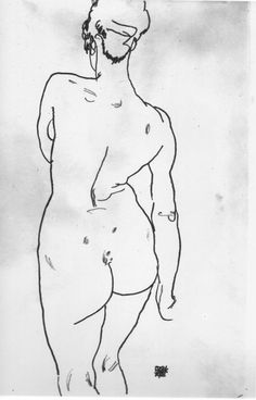 Schiele -- Love his work; drawings and paintings.