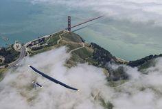 solar impluse: solar powered aircraft embarks across the USA ///