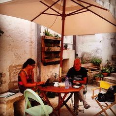 Not too bad to work during your holiday at L'Albero di Eliana eco-friendly b&b Matera