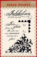 Bilde av produkt: Papirdesign: Juletre - Clear Stamps